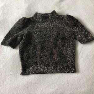 Kate Spade Mock Neck T-Shirt